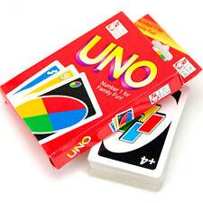UNO Karten Spiel Kartenspiel Familienspiel Kartenanzahl 108 Spieler NEU & OVP PD