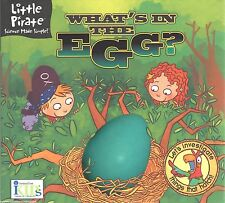 WHAT'S IN THE EGG Hatch NEW Kids BOOK Lift Flap ANIMALS Kids AGES 3-8 Nature