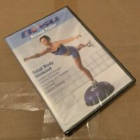 BOSU Balance Trainer TOTAL BODY WORKOUT Gym BALL Training AEROBIC Strength a DVD
