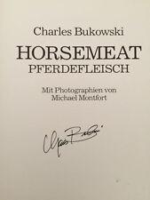 CHARLES BUKOWSKI HORSEMEAT PFERDEFLEISCH 1st signed fine
