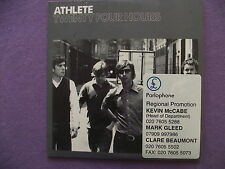 Athlete - Twenty Four Hours. Promo CD Single