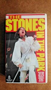 The Rolling Stones - The Stones In The Park (VHS, 2001)