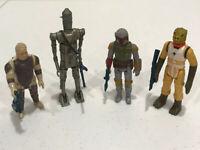 VTG Star Wars 1979 Boba Fett Mandalorian 1980 Dengar Bossk IG-88 Bounty Hunters