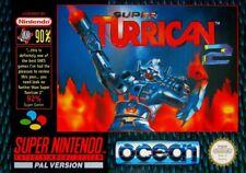 Nintendo SNES Spiel - Super Turrican 2 mit OVP