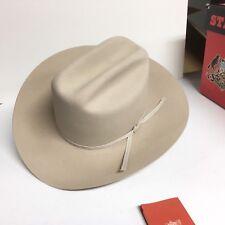 Stetson Cowboy Silverbelly Hat W/ Box - Never Worn