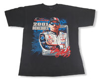 Vtg '01 Dale Earnhardt Nascar Winston Cup Series Men's Double Sided T-Shirt L/XL