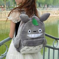 Kawaii My Neighbor Totoro Plush Shoulders Bag kids School Backpack Anime Cute
