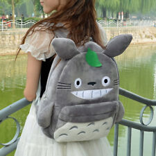 Kawaii My Neighbor Totoro Plush Shoulders Bag Unisex School Backpack Anime Cute