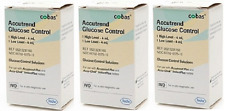 Roche - Accutrend Glucose Control Solution - 2 bottles ( 3 Pack)