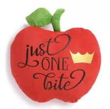Snow White Disney Princess Apple Cushion - Just One Bite BNWT