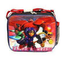 Disney Big Hero 6 Lunch Bag LunchBox, NEW
