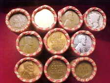 """10 ROLLS LINCOLN WHEAT PENNIES 1909 VDB INDIAN ENDS!!+ LOTS OF """"S"""" MINTS""""!!++"""