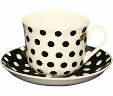 Ceramic Spotted Contemporary Cups & Saucers