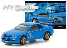 GREENLIGHT 1:64 BFGOODRICH VINTAGE AD CARS 2001 NISSAN SKYLINE GT-R (R34) 29944