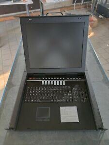 """KVM 17"""" LCD Terminal // 8-Port KVM-Switch // KVM-1708M"""