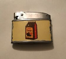 Vintage Penguin Lighter - Cafe Familia - Barquisimeto / Valero Venezuela