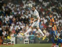 Karim Benzema signed 11x14 Photo PSA DNA COA Soccer Star Rare Bold Auto B682
