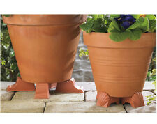2 SETS OF 4 PLANT POT FEET - KEEP YOUR POTTED PLANTS RAISED OFF THE GROUND - NEW