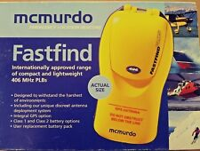McMurdo FastFind Plus Personal Location Beacon - battery expired  (85-825-004A)