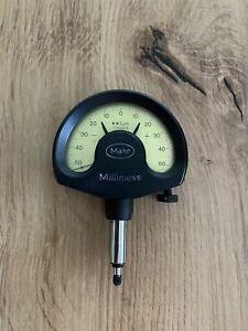 Mahr Millimess Feinzeiger 0,001mm, Messbereich 1 µm, Messuhr,