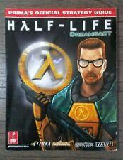Half-Life SEGA DREAMCAST Prima Strategy Guide - ULTRA RARE, Unreleased Game