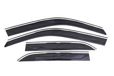Auto Ventshade 794016 Ventvisor Low-Pro Chrome Trim 4Pc 11-15 Chrysler 300