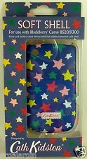 CATH KIDSTON BACK CASE COVER FOR BLACKBERRY CURVE 8520 9300 - STAR DESIGN - NEW
