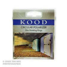 Kood 62mm Circular Polariser Filter. Slim Ring CPL. Will fit Sony 18-200mm etc