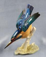 Eisvogel figur  Vogelfigur kingfisher figure figura vogel Hutschenreuther