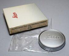 Leitz Leica A42 14321 Metal Lens Cap E39 Summicron 35/2 50/2 Elmarit 50/2.8 Box
