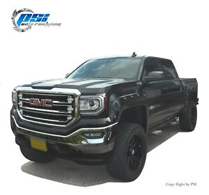 Paintable Pop-Out Style Fender Flares Fits GMC Sierra 1500 2016-2018 Full Set