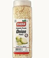 Badia Onion Flakes Dried White Cebolla Picada Seca 14 Oz