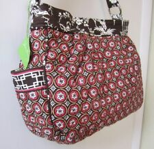 NWT Vera Bradley REVERSIBLE TOTE 'IMPERIAL TOILE'  Purse Handbag  Retired HTF