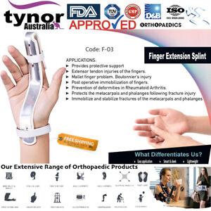 Tynor™ Finger Extension Splint for Broken Fingers Arthritis Trigger Finger Brace