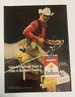1972 Marlboro Man Come To Marlboro Country Ad Cigarette Cowboy Richard Prince