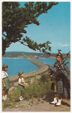 The Canso Causeway looking towards Cape Breton Island Vintage Postcard