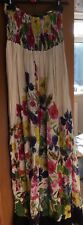 Primark size 10 floral maxi dress