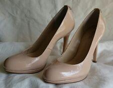Michael MICHEL KORS 6.5 6 1/2 Nude Beige Patent Leather Pumps Shoes NWD