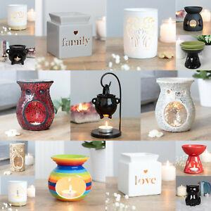 Oil Burner Wax Warmer Various Ceramic Designs Scent Oil Wax Melts Fragrance Gift
