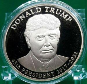 DONALD TRUMP PRESIDENTIAL DOLLAR TRIAL COMMEMORATIVE COIN VALUE $99.95