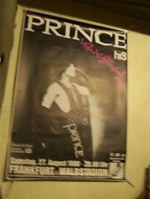 PRINCE,FRANKFURT WALDSTADION 1988 TOURPLAKAT 85x118  vg+/  gerollt