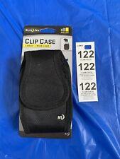 Nite Ize Clip Case Cargo Cell Phone Holder W' Holster Belt Clip Wideload Black