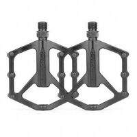 "2x Mountain Road Bicycle Bike Pedals Flat Platform for BMX MTB 9/16"" Lightweight"
