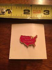 Motorcycle Motor Cycle Vintage Pin Badge 1973 AMA Tour Award