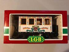 VINTAGE LEHMANN LGB CIRCUS TRAIN PASSENGER CAR 3036