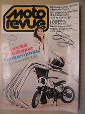 MOTO REVUE n° 2532/12 nov 81. SPECIAL CATALOGUE EQUIPEMENTS ACCESSOIRES 1981