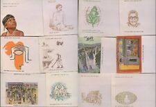 INDIA 1960s + 70s...22 ILLUSTRATED PRINTED ENVELOPES for FDCs...Lot 4