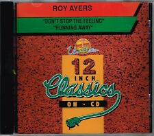 ROY AYERS - Don't stop the feeling/Running away CDS 1992 - CD SINGLE - CANADA