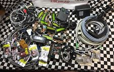 LOT ELECTRICAL CABLE DISPLAY APX POWER SUPPLY AG569H, FH29,D-B64, POWERTIP USB