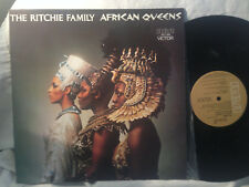 """THE RITCHIE FAMILY AFRICAN QUEENS VINYL LP RECORD 12"""""""